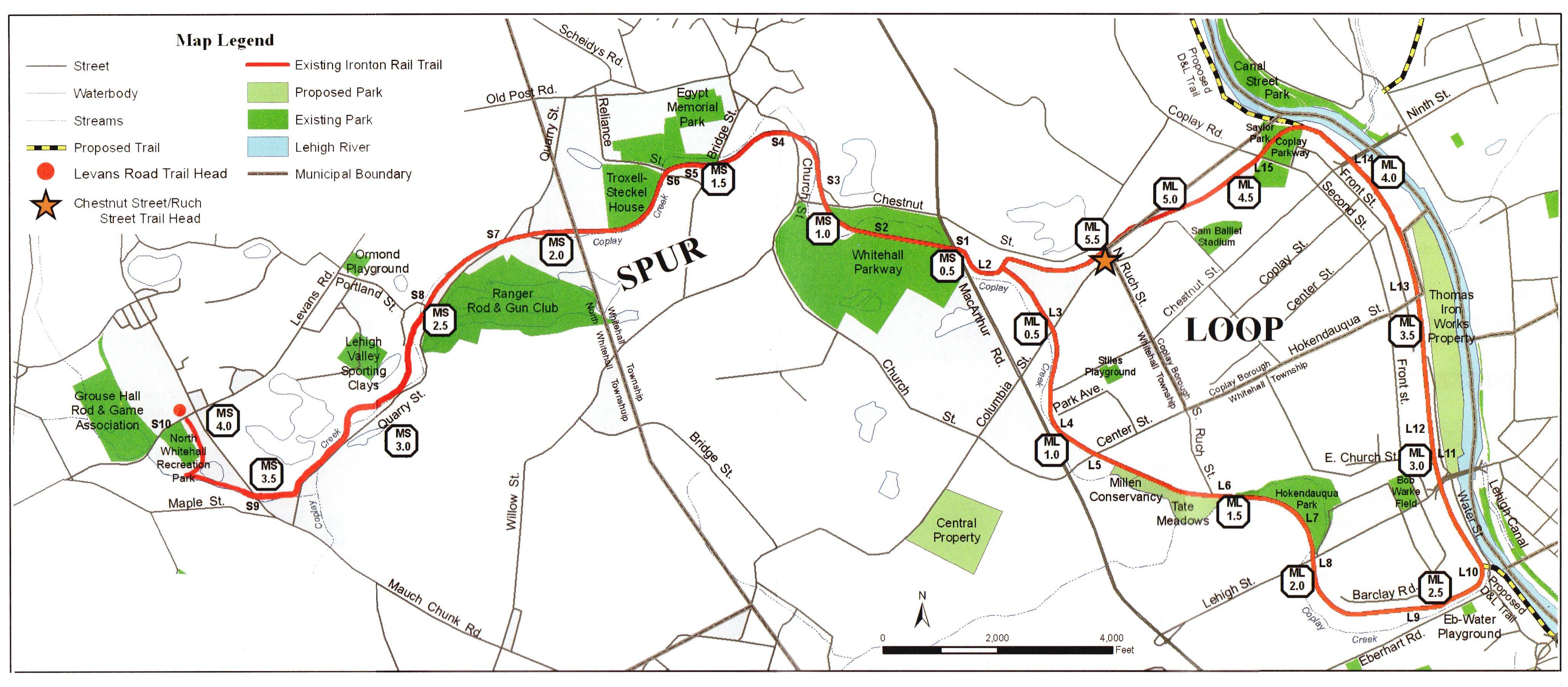 Rails To Trails Map Ironton Rail Trail   Trail Map